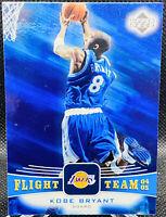 KOBE BRYANT 2004-05 UD Flight Team #FT6 Los Angeles Lakers Mint Black Mamba