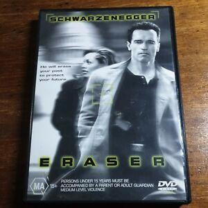 Eraser DVD R4 LIKE NEW FREE POST