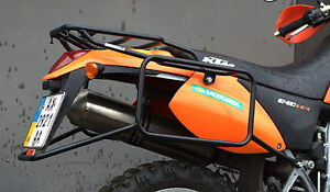 KTM 640E LC4 SuperMoto Whole-welded Luggage Rack Carrier System KTM0039 Bike