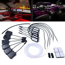 Car Ambient Light Atmosphere Lamp APP Control 64Colors Optic Fiber Decoration