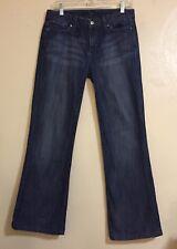 Womens Bootcut Distressed JOE'S Denim Jeans Sz W29 Inseam 30 Career