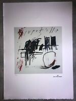 Jean-Michel Basquiat - Lithographie - Untitled - 1981 - 250 Ex -