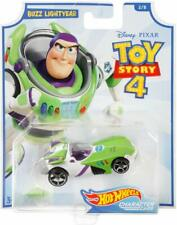 Toy Story 4 Hot Wheels Character Car Buzz Lightyear - Two Best Brands In One Toy