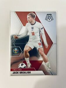 JACK GREALISH ENGLAND Card Panini Euro 2020 Mosaic 2021