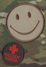 AFSOC PEDRO PJ CRO COMBAT MEDIC νeΙ©®⚙�� SET: HAPPY SMILEY FACE + ORGASM DONOR