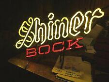 """Shiner Bock Beer Neon Sign Lamp Light Beer Bar 27"""" x 18"""" x 6"""""""