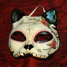 Day of the Dead Cat Mask Dia de Los Muertos Pushing Daisies Halloween Galerie II