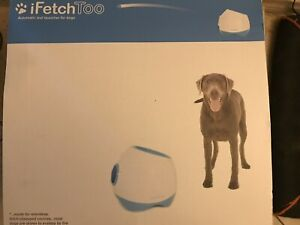 iFetch Too Interactive Ball Launcher for Dogs – Launches Standard Tennis Balls