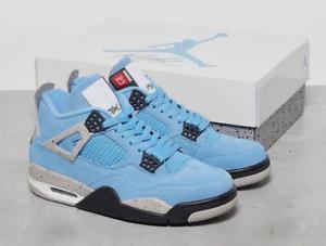 Nike AIR JORDAN 4 UNIVERSITY BLUE UNC CT8527-400 Size 4Y - 13