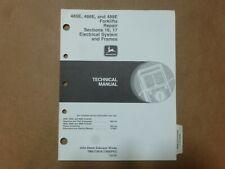 John Deere 485e 486e 488e Forklift Electrical System Amp Frames Service Manual