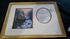 "Thomas Kinkade ""Sweetheart Cottage II"" Accent Print With Poem and Frame"