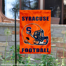 Syracuse Orange Football Helmet Garden Flag and Yard Banner