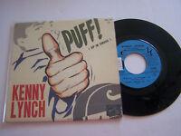 EP 4 TITRES VINYLE 45 T , KENNY LYNCH , PUFF !  . EX / EX . EMF 331 . RARE .