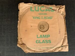 Lucas 'King Of The Road' Lamp Glass 516173