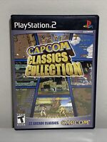 Capcom Classics Collection (Sony PlayStation 2) PS2 Complete W/ Manual - Tested