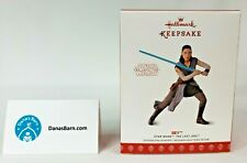 Hallmark Keepsake Ornament 2017 ~ Star Wars the Last Jedi ~ Rey Figure