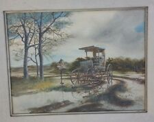 """Ronald Roesch """"High and Dry"""" Signed Serigraph"""
