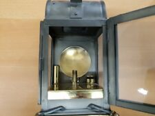 Eisenbahnerlampe Karbid ca. 1918 SBB CFF FSS Bahnmeister 9 BH Langenthal