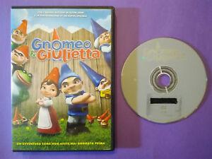DVD Film Ita Animazione GNOMEO E GIULIETTA Elton John ex nolo no vhs cd lp (H1)