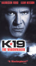 K-19: The Widowmaker VHS Video Tape Harrison Ford Liam Neeson