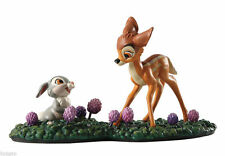 WDCC Disney Bambi And Thumper Just Eat the Blossoms. That's the Good Stuff!