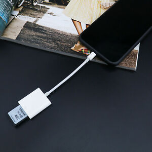 1x  Kartenleser SD-Karte Adapter Kartenlesegerät für Handy Kamera