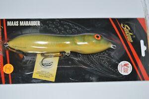 "salmo maas marauder 18 floating GLOW luminescent real roach 7"" big fish lure"