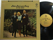 """Peter, Paul and Mary - In the Wind  (gold W.B. 1507) (with """"Don't Think Twice"""")"""