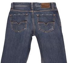 DIESEL LARKEE 008RQ Mens Straight Regular Fit Distressed Jeans W31 L34 Classic