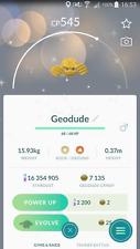 Shiny Geodude Trade