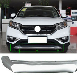 For Honda CRV 2015-2016 Front Bumper Protector cover Decorative trim Silver Lip