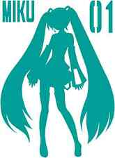 Vocaloid Hatsune Miku character decal sticker
