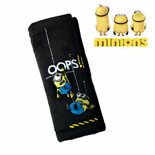 The Minions Safety Belt Pad Car Seat Belts Cover for Kids Genuine Disney