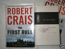The First Rule by Robert Crais  **SIGNED**