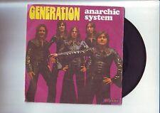 45 tours anarchic system -- generation - bon etat