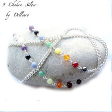 Gemstone Silver Plated Costume Eyeglass Chains & Holders