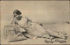 Actress? Madge Brema - Imperial Publ c1910 Postcard