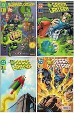 GREEN LANTERN 1-4 komplett (2001)