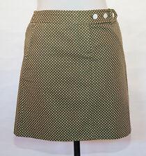 J. Crew Green dot mini Skirt Size 2. NWT