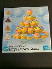 Wilton Large Dessert Stand Cupcake N More 38 Ct NEW #307-651
