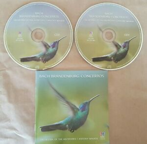 JS Bach BRANDENBURG CONCERTOS - Orchestra of Antipodes Antony Walker 2 CDs 2011