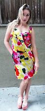 MARNI Silk Blend Floral Kneelength Evening Cocktail Dress, Italy,ORP $1,300, 6-S