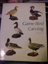 1972 BOOK, GAME BIRD CARVING, WINCHESTER PRESS