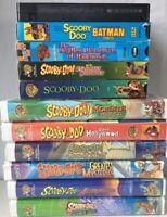 Scooby Doo VHS Tape Batman Halloween Ghost Movie Cartoon Network WB Children Lot