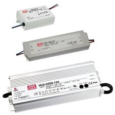 LED power supply MeanWell APV / LPV / HLG-series ; switching power supplies
