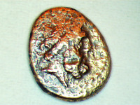 ARADOS,PHOENICIA 206BC ZEUS & GALLEY (Greek) #81