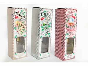 ALCOHOLIC CHRISTMAS DIFFUSER SET, HOME, OFFICE