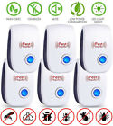 Electronic Pest Reject Control Ultrasonic Repeller Home Bug Rat Spider Roaches photo