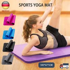 Fitnessmatte Yogamatte Gymnastikmatte Sportmatte Pilatesmatte Turnmatte 10mm