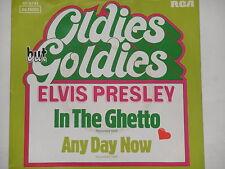 "ELVIS PRESLEY -In The Ghetto- 7"" 45"